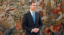 König Felipe VI. ruft die Spanier wieder an die Wahlurnen.