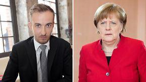 """Scharfe Böhmermann-Kritik an Merkel: Kanzlerin hat mich """"nervenkrankem Despoten zum Tee serviert"""""""