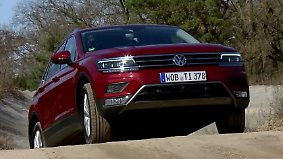 Intelligentes Allrad-System: Neuer VW Tiguan erklimmt selbst steiles Gelände