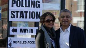 Sadiq Khan will erster muslimischer Bürgermeister Londons werden.