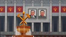 Erster Parteitag seit 1980: Kim Jong Un will historische Rede halten