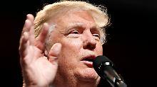 """Kritik und Belustigung: Trump sendet Hispanics """"Liebeserklärung"""""""