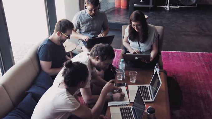 Komplette erste Folge: Startup News
