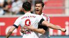 Es sind seine Saisontreffer 28 und 29. Damit steht Lewandowski dicht vor dem Gewinn der Torjägerkrone.