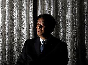 Sozusagen der Brüderle Japans: Wirtschaftsminister Banri Kaieda.