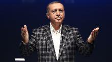 Erdogan will auf keinen Fall seine Terrorgesetzgebung zurücknehmen.
