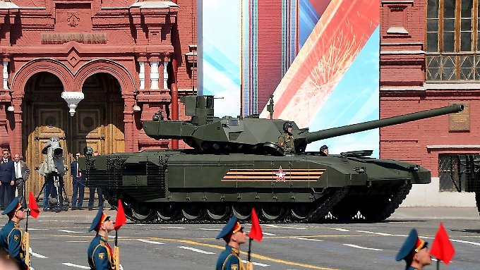 "Parade am ""Tag des Sieges"", am 9. Mai 2016, in Moskau."