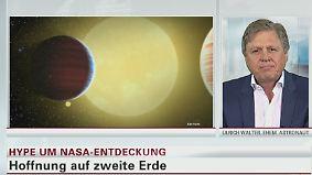 """Ex-Astronaut zu Kepler-Entdeckungen: Die Wahrscheinlichkeit, dass ein Planet erdähnlich ist, """"ist extrem gering """""""