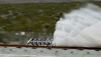 Vision: Mit 1200 km/h durch die Röhre: Hyperloop rast bei Test erfolgreich durch Wüste von Nevada