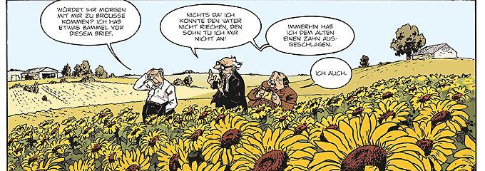 """""""Die alten Knacker"""" tauschen Jugenderinnerungen aus."""