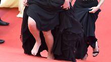 Julia Roberts rebelliert in Cannes: Barfuß auf dem roten Teppich