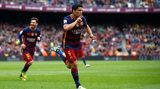 Fünf Fakten zum Saisonfinale in Spanien: Suárez soll Barca zur Meisterschaft schießen