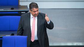 Signal für baldigen Rückzug?: Gabriel will internen Konkurrenzkampf um Kanzlerkandidatur