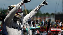 Vettel patzt, Verstappen brilliert: Hamilton schnappt Rosberg die Pole weg