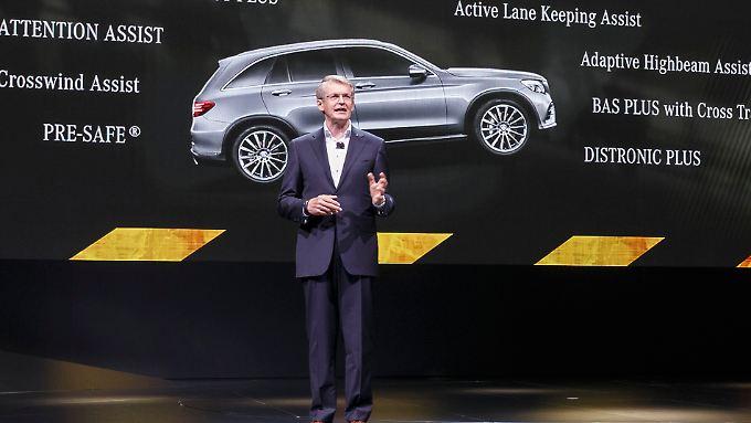 Für Mercedes' Entwicklungschef Thomas Weber liegt die Elektromobilität nicht nur im Akkumulator.