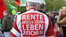 Debatte zu Harz-IV-Empfängern: SPD rudert bei Zwangsverrentung zurück