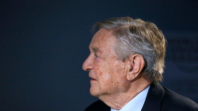 Soros hat viel Geld mit dem Pfund verdient.
