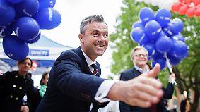 Schicksalswahl in Österreich: FPÖ-Vize Hofer führt Umfragen an