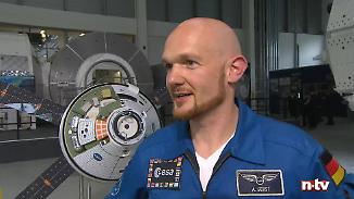 """Interview mit Alexander Gerst: """"Auf der ISS ist man Erdenbürger"""""""