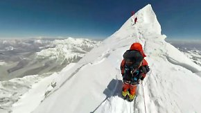 Kaum zu glauben, aber wahr: Beeindruckende 360-Grad-Bilder einer Mount-Everest-Besteigung