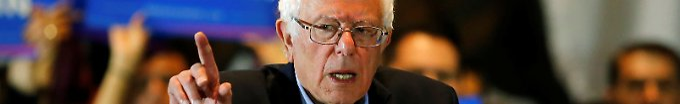Der Tag: 21:18 Sanders fordert Überprüfung von Vorwahl-Ergebnis