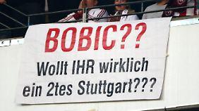 Nicht alle sind begeistert: Fredi Bobic heuert bei der Frankfurter Eintracht an.
