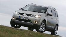 Mitsubishi-SUV im Check: Outlander II: Großes zum kleinen Preis