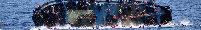 Der Tag: 18:08 Binnen 48 Stunden 5600 Flüchtlinge aus Mittelmeer gerettet