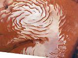 Eispanzer bedeckt Nachbarplaneten: Auf dem Mars gab es eine Eiszeit
