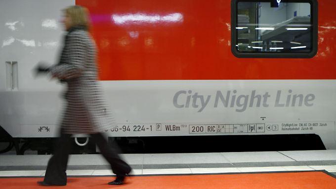 Statt der City-Night-Line-Züge sollen mehr ICEs in der Nacht eingesetzt werden.