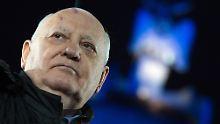 Wegen Unterstützung für Russland: Gorbatschow darf nicht in Ukraine einreisen