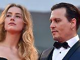 """""""Wie Dreck behandelt"""": Johnny Depps Trennung wird schmutzig"""