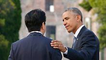 Keine Entschuldigung für Hiroshima: Obama will Welt ohne Atomwaffen