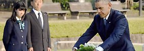 "Obama in Hiroshima: ""Es liegen 'Hope and Change' in der Luft"""