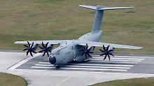 """Pannen-Transporter A400M: Airbus-Chef räumt """"Riesenfehler"""" ein"""
