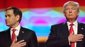Auf Versöhnungskurs mit Trump: Rubio entschuldigt sich für Penis-Anspielungen