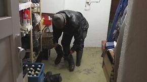 Hochwasser in Bayern: Anwohner kämpfen um ihre Häuser