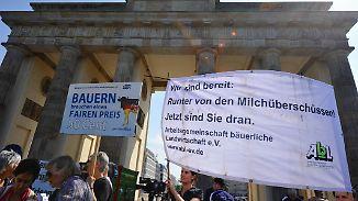 Gipfel zum Preisverfall in Berlin: Milchbauern sollen 100 Millionen Euro Soforthilfe erhalten