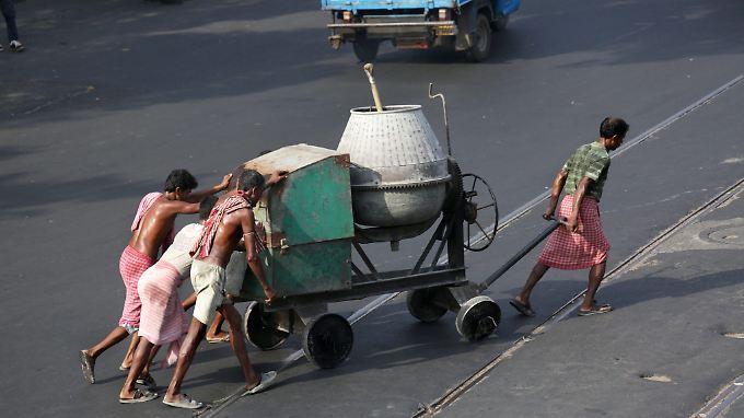 "In Indien gibt es laut dem ""Global Slavery Index"" besonders viele Sklaven."