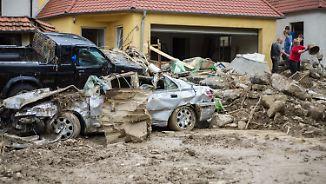 Fassungslosigkeit und Verzweiflung: Unwetter verwüsten Orte in mehreren Bundesländern