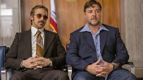 """Kinotipp """"The Nice Guys"""": Crowe und Gosling toben sich im Porno-Milieu der 70er aus"""