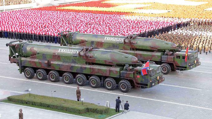 In jüngster Zeit gibt es neue Spannungen zwischen Nord- und Südkorea.