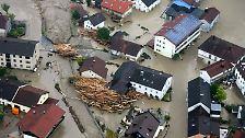 Flutwelle in Niederbayern: Hochwasser kostet sechs Menschenleben