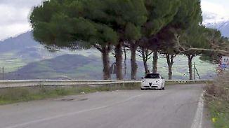 Autorennen-Zeitreise in Sizilien: Mit dem Alfa Romeo auf der legendären Targa Florio