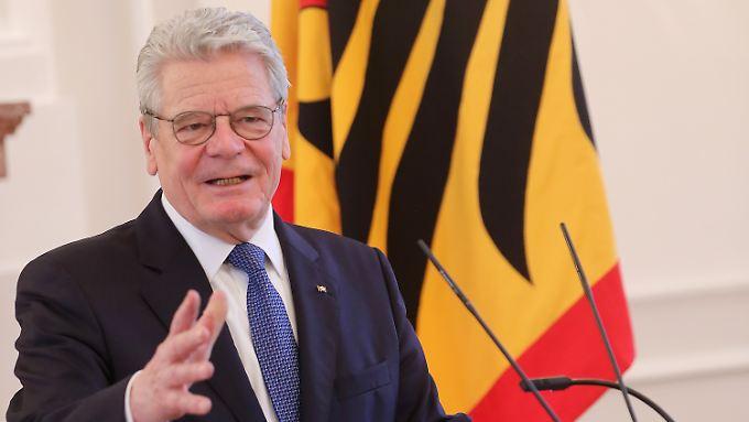 Amtszeit Gauck