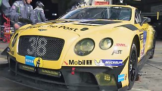 Besuch auf dem Nürburgring: Bentley kann nicht nur Luxus