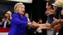 Sanders zeigt sich trotzig: Clinton hat genug Stimmen für Nominierung