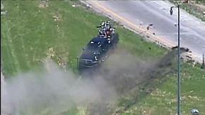 Verfolgungsjagd in Missouri: Polizei rammt Pick-up und leistet nur zögerlich Hilfe