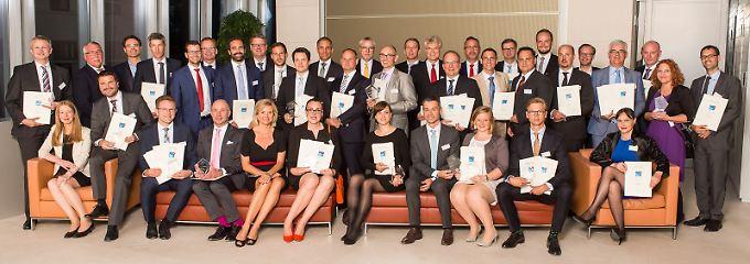 Die Preise wurden feierlich in der Berliner Bertelsmann-Repräsentanz verliehen.