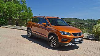 On- und offroad ein wahrer SUV: Seat Ateca fährt mit spanischer Seele